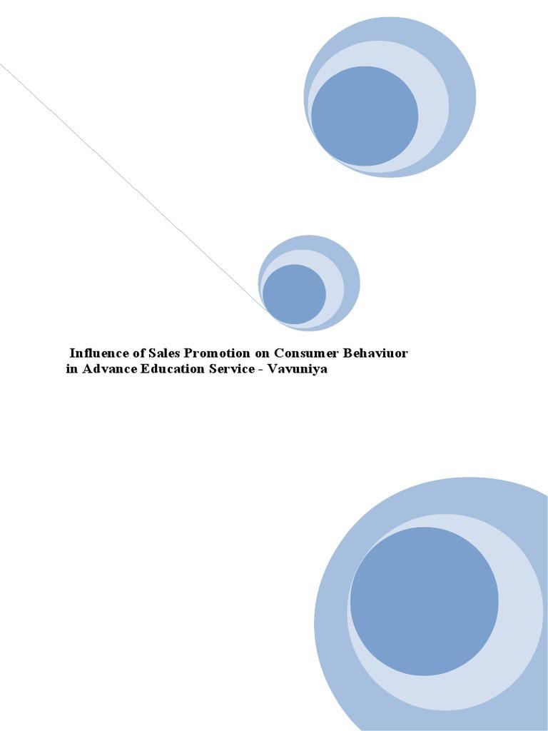 Consumer behaviour dissertation