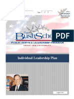 PSLP Individual Leadership Plan