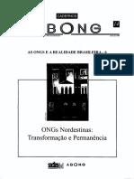 Abong - As Ongs e a Realidade Brasileira - 6