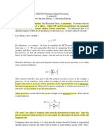 Transformada Z e PSD
