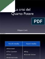 La crisi del Quarto Potere [Keynote]