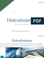 Hidráulica - Aula 2 - Hidrodinâmica