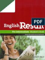 English Result Pre-Int SB