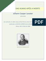 Johann Caspar Lavater o Estado Das Almas Apc3b3s a Morte