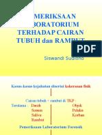 Pem.lab Cairan Tubuh & Rambut-SS-1