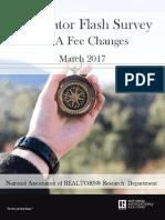 2017 FHA Mortgage Insurance Premium Flash Survey