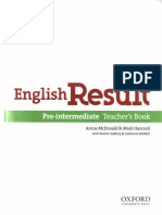 English Result Pre-Int TB