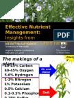 Effective Nutrient Management - Joanne Thiessen Martens