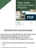 Water Audit Presentation, November 4, 2013
