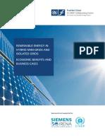 IRENA FS UNEP Hybrid Minigrids 2015