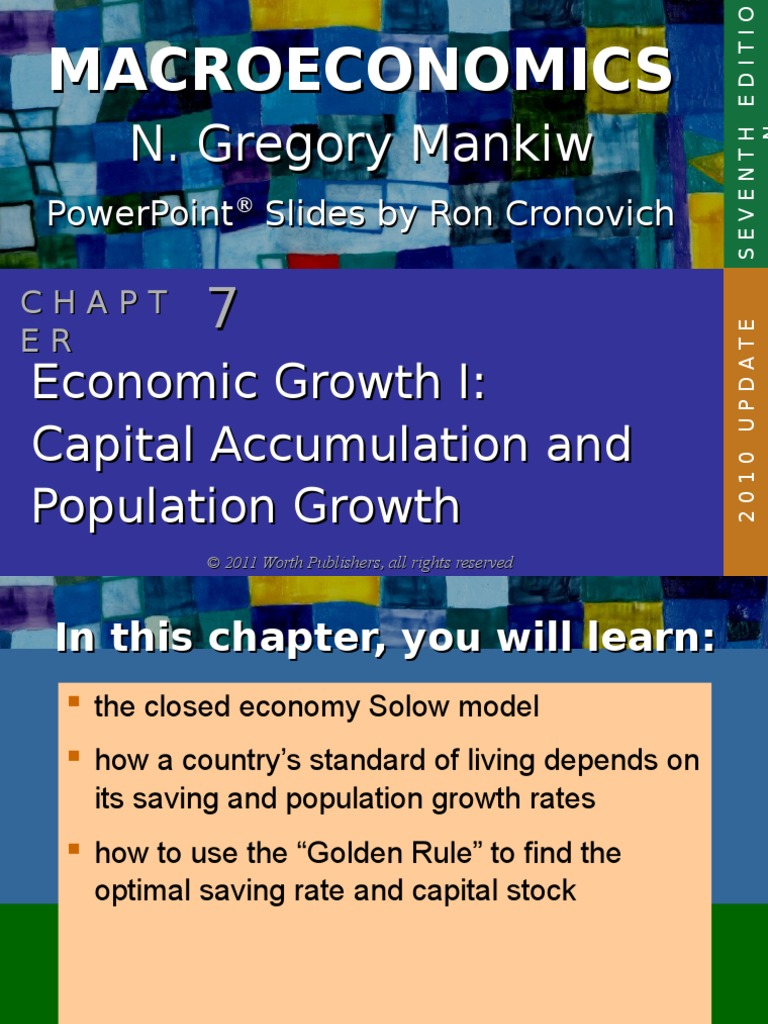 Growth 1 | Steady State | Economic Growth