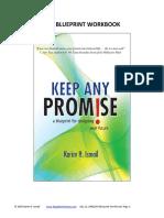 Keep ANY Promise Life Blueprint Workboook August 9 2008