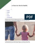 As Diferentes Fases Da Vida Da Família