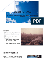 clean air act ii