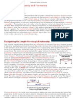 Fundamental Frequency and Harmonics