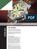 Twsteel Manual Canteen Style