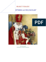 Proiect tematic MOS NICOLAE