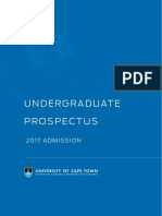 uct prospectus