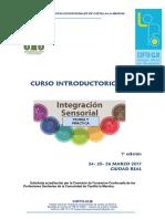 Difusión Curso Integración Sensorial 2017