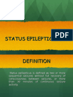Management of Status Epilepticus