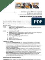 Programa Arroces del Mundo Vitoria-Gasteiz