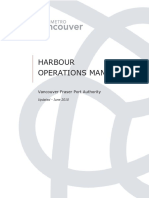 Vancouver Harbour Operations Manual
