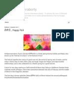 Shaunak Chakraborty_ होली है _ Happy Holi