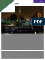NYU Metro Center Report to BC Vision