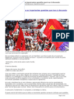 Esquerda Marxista - Sobre a Cisao Do Pstu e as Importantes Questoes Que Traz a Discussao - 2016-07-19