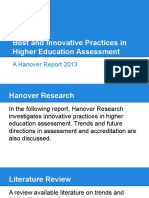 Best InnovativePractices HigherEducationAssessment.june2015FINAL
