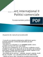 Curs Nr. 1-4 Fundamentele Politicii Comerciale