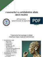 Tratamentul Non Insulinic