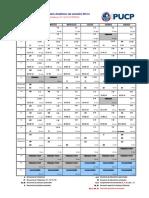 Calendario Academico 2013-2