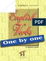Edward Rosset English Verbs One by One Spanish Edition
