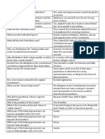 constitution study sheet pdf