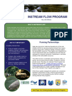 2013 Instream Flow Program