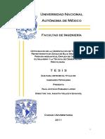 Cementacion Con Lechadas Ultra Ligeras y Uberias Descolgadas (Tesis Completa)