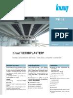 [9500]Knauf P911 Vermiplaster