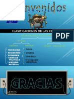 CLASIFICACIONES DE LAS CIENCIAS