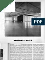 Burnham Jack 1968 Systems Esthetics Artforum