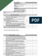 Dailyweekly Checklist
