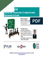 Salarios Treinadores Brasil 2013