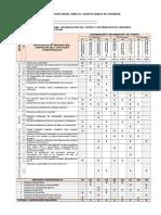Planificación Anual Para El Cuarto Grado de Primaria