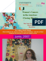 Women's Cancers  in the Americas