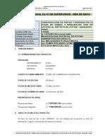 Informe m No 001 Pistas y Veredas