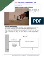 TB7- Measuring Electrostatic Fields