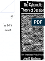 The Cybernetic Theory of Decision - Steinbruner