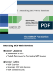 Attacking WCF Web Services-Brian Holyfield