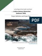 2013 Pescadero-Butano Watershed Sediment TMDL
