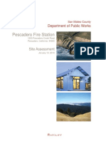 2014 Pescadero Fire Station Site Assessment